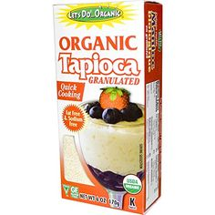 Edward  Sons Organic Tapioca Granulated 6 oz 170 gPACK 1 >>> You can find more details by visiting the image link.(This is an Amazon affiliate link and I receive a commission for the sales) #BakingMixes