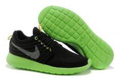 Bajas precio verdes,negras - zapatillas de running nike roshe run dyn fw hombre qs comprar en linea