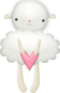 Sleepy bears - Carmen Ortega - Álbuns da web do Picasa Sheep Pig, Baby Sheep, Cute Sheep, Sheep And Lamb, Clipart Baby, Frame Clipart, Sheep Illustration, Cute Animal Illustration, Pattern Books