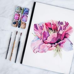 "8,071 Likes, 19 Comments - Watercolor illustrations (@watercolor.illustrations) on Instagram: "" Watercolorist: @mediajamshidi #waterblog #акварель #aquarelle #drawing #art #artist #artwork…"""