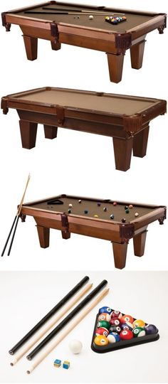 Tables 21213: Fat Cat Frisco 64-0127 7 Ft. Billiard Game Table With Play Package -> BUY IT NOW ONLY: $994.84 on eBay!