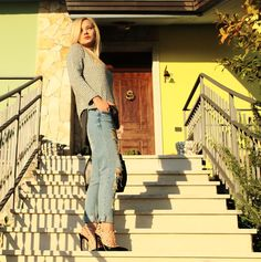 Sheinside boyfriend pants outfit Teresa Morone theFashiondiet fashion blogger italiane  petite