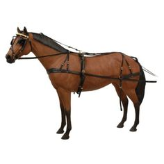 Harnesses 72586: Tough 1 Horse Tack Premium Leather Tooled Box Bridle Driving Harness -> BUY IT NOW ONLY: $469.99 on eBay!