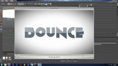Tutorial : Springy Text in C4D on Vimeo