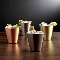 Shop Martin Cocktail Glasses. Our exclusive stainless steel cocktail glasses have a clean, contemporary design that's perfect for craft cocktails, smashes or martinis. Protected by a lacquer finish, the glass requires no polishing.
