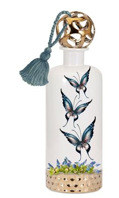 """Butterfly Bottle Bookmark..."" by maryv-1 ❤ liked on Polyvore featuring art"