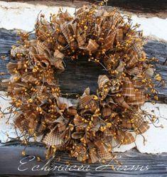 Best 25+ Primitive wreath ideas