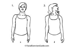 Lose Your Double Chin And Smooth Your Neck With Facial Exercise