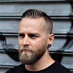 Hipster Haircut For Men Hipster Haircuts For Men, Hipster Hairstyles, Beard Styles For Men, Hair And Beard Styles, Beard Trend, Beard Images, Beard Haircut, Epic Beard, Full Beard