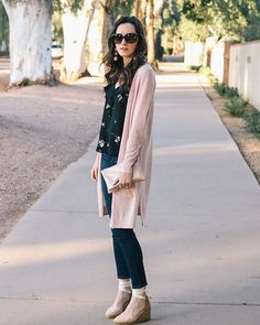 Just found out this $68 cardigan comes in hot pink & Im all about it  link in bio for details #ootd #ihavethisthingwithpink #nordstrom