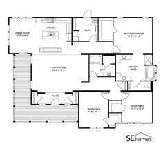 Clayton Homes | Home Floor Plan | Manufactured Homes, Modular ...