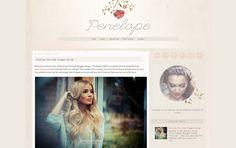 dana of envye Design Trends, Web Design, Design Shop, Design Ideas, Social Network Icons, Blog Design Inspiration, Instagram Widget, Blogger Templates, Templates Free