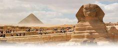Kairo Tagesausflug, Ausflug von Hurghada nach Kairo mit dem Flugzeug, Sehenswürdigkeiten in Kairo: die Pyramiden und die Sphinx , die Ausstellung des Königs Tut Anch Amun,  das Ägyptische Museum.
