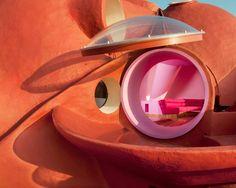 Bubble House Maison Bernard renovation by Odile Decq
