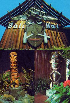 Bali Hai Restaurant Shelter Island Tiki San Diego Witco Photo Print of Postcard | eBay...