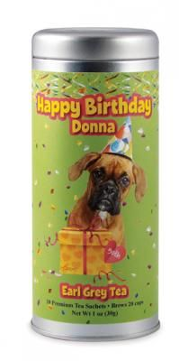 Happy Birthday Boxer   The Tea Can Company