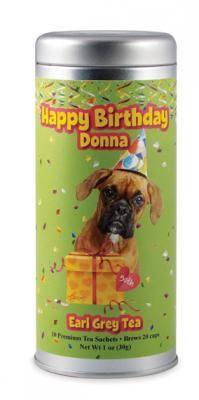 Happy Birthday Boxer | The Tea Can Company