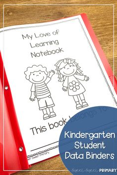 Help your kindergarten students take ownership of their learning goals with student data binders. Students can set goals for reading and math skills and graph their progress. Fun Reading Games, Fun Math Games, Social Studies Resources, Reading Resources, Mindful Classroom, Student Data Binders, Data Notebooks, Read Aloud Books, Writing Skills