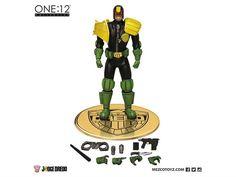 1:12 Scale Judge Dredd Action Figure