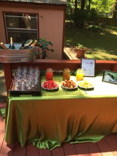#MimosaBar #GardenParty #BridalShower