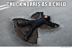 Funny pictures about Chuck Norris as a child. Oh, and cool pics about Chuck Norris as a child. Also, Chuck Norris as a child. Funny Pins, Funny Memes, Funny Stuff, Memes Super Graciosos, Chuck Norris Memes, I Love To Laugh, Just For Laughs, The Funny, Pikachu