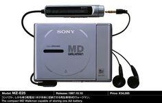 Sony MZ E25