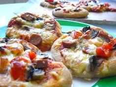 Міні-піца - рецепт  #кулінарія #їжа #піца #кулинария #рецепты