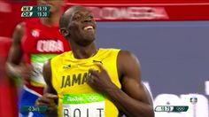 Jogos Olímpicos | Usain Bolt vence a prova dos 200m e é tricampeão olímpico…