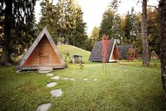 Micro Cabins Provide Rustic Glamping Retreat - Curbed