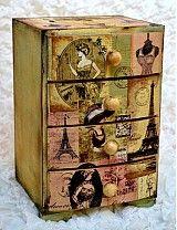 Krabičky - Dámy z Paríža - 2277806