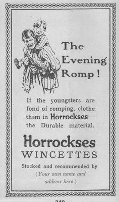 Charles Degenhardt, Dorking. Wincyette Advert