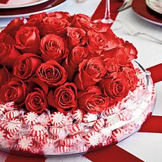 Make It Merry & Bright | Candy Centerpiece | SouthernLiving.com