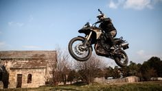 BMW F 800 GS in Action. By Bogdan Baraghin