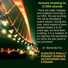 OUR DNA IS BEGINNING TO ACTIVATE, THE UNIVERSE IS COMMUNICATING WITH US