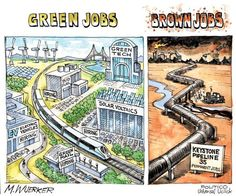 Green jobs vs. brown jobs - POLITICO.com