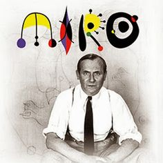 Joan Miró: The Force of Matter - watch the video at the end of the article - Cyndy Koles Art History Projects For Kids, Art Lessons For Kids, Art For Kids, Kandinsky, Joan Miro Pinturas, Joan Miro Paintings, Spanish Artists, Modern Artists, Old Master