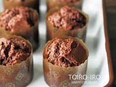 簡単でふんわり美味しい♡チョコマフィンの画像
