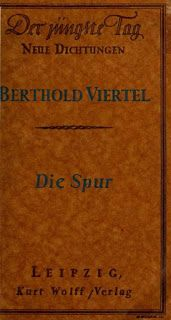 #Vorarlberger Bloghaus: [ #FREIHANDbuch ] Berthold Viertel: Die Spur Spur, Child Rights, Education