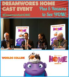 Dreamworks HOME Cast Event & 5 Reasons to see HOME #DreamworksHOME via @themamamaven