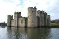 Bodiam Castle, East Sussex England