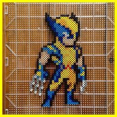 Wolverine X-Men perler beads by  mastablasta3