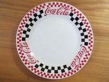 """1997 - Racing - COCA-COLA  7-3/4"""" Plate - Made by Gibson"""