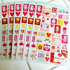 Sticker sheet book: $1.50 each   PayPal US only. Price does not include shipping starts at $2.85 and goes up by weight. I cover PayPal fees. Payment is due WITHIN AN HOUR of invoice and will be cancelled if not paid. No holds. DM ME YOUR ORDER WITH PICTURES ATTACHED AND QUANTITY YOU WOULD LIKE as well as ZIP CODE and PAYPAL EMAIL so I can get you your total and invoice quickly. Will only be taking orders through PM's and will update photos as time goes on. HAPPY PLANNING! (cross posted)…