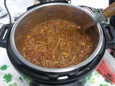 Pressure Cooker Jerk Chicken Chili