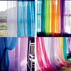 Hot U0026 Wholesale,140cm*250cm Europe Voile Curtain Design 2012, 20 Colors  Available