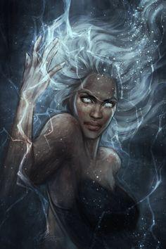 """Ororo"" by (Jasric) | #Marvel #Comics #XMen #Storm"