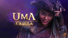 Meet Uma daughter of Ursula. Descendants Wicked World, Descendants Characters, Disney Channel Descendants, Disney Channel Shows, Descendants Pictures, Fictional Characters, Sofia Carson, High School Musical, Disney Villains