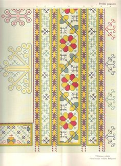 Latvian ornaments & charts