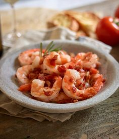 Check out this regionally inspired recipe from Taste of Italy! Shrimp with Pancetta and Rosemary