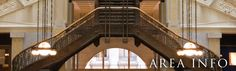 """Burnham & Root's Rookery in Chicago  Made famous by book, """"Devil in the White City."""""""